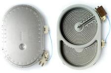 Zweikreis HiLight Strahlheizkörper 2400/1500W 230V Herd EGO 10.57411.604 OVAL