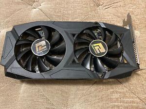 8GB PowerColor AMD Radeon RX 580 GDDR5 8GB GPU Graphics Card Used