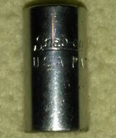 "Snap-on TM10 1/4"" Drive 5/16"" SAE 6 Point Shallow Socket USA"