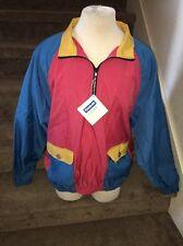 Reebok Golf Pullover Jacket Vintage Early 1990's 90's VTG Men Large New NWT