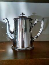 Gebr Hepp Silverplate Antique Coffee Pot