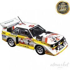 Audi Quattro S1 1986 Rallye Monte Carlo equipo de Construcción Plástico 1