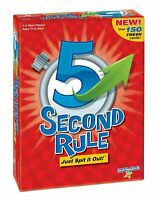 PlayMonster 5 Second Rule Game -150 cards & timer-New Edition - FREE SHIPPING!