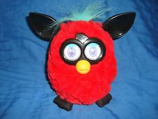 "Furby Boom Red, Black & turquoise Color 6"" tall 2012 Hasbro"