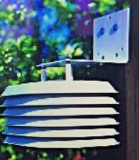 Davis 6380 Wireless Temperature/Humidity Station with Standard Radiation Shield