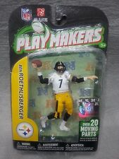 NEW McFarlane NFL Playmakers Series 3 Ben Roethlisberger Action Figure 3.75""