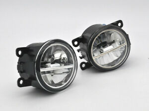 2x High Power LED Projector Bumper Driving Fog Light for Ford Mustang FM 15-2017
