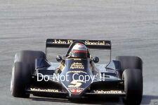 Mario Andretti JPS Lotus 79 Winner Spanish Grand Prix 1978 Photograph 4
