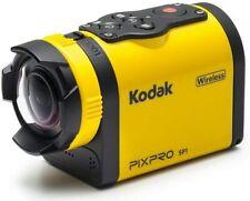 Kodak Pix Pro SP1 Digital Action Camera With Explorer Accessoreis (Yellow)