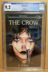 THE CROW #1 CGC 9.2 (NM-) 3RD PRINT CALIBER PRESS 1990 JAMES O'BARR