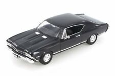 1968 CHEVY CHEVELLE SS 396 WELLY 29397WBK 1/24 DIECAST CAR