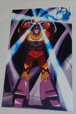 1986 G1 Transformers Autobot Rodimus Prime Arise Matrix Movie Poster 11x17