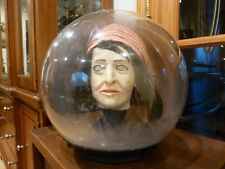 "Gemmy 14"" Large Spirit Ball Fortune Teller Gypsy Animated Talking - Working"
