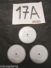 Ingranaggi ingranaggio pezzi di ricambio modellismo meccanismi in plastica 17A