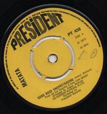 MATATA good good understanding*gimme some lovin' 1975 UK PRESIDENT 45