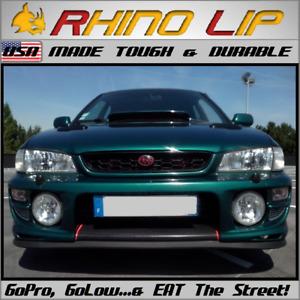 SUBARU Vivio Impreza WRX WRX-STi Pleo Front Rubber Bumper Splitter Chin Lip Trim