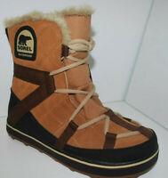 Sorel Glacy Explorer Shortie Women's Winter Boot NL2079/286 Elk RRP £135 NEW