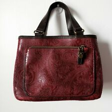 Relic Quality Brand Womens Paisley Red Purse