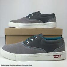 Levis Zapatillas Para Hombre De Gamuza Commuter Sneaker 2013 Colección De Zapatos Uk 7.5 RRP £ 65
