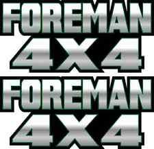 Foreman 4x4 Green Gas Tank Graphic TRX 450 400 500 Decal Sticker Atv Quad Fender