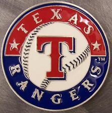 MLB Pewter Belt Buckle Texas Rangers NEW