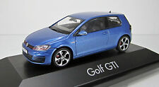 Herpa 070775 Volkswagen VW Golf VII GTI pacific blue metallic  Scale 1/43