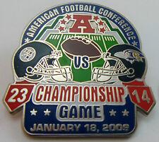Pittsburgh Steelers vs Baltimore Ravens 2008 AFC Championship Game Pin