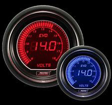 52mm EVO series Red and Blue Volt Gauge
