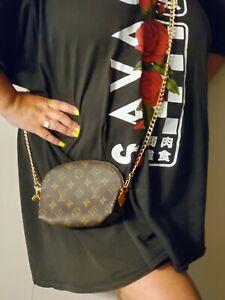 Louis Vuitton Monogram Cosmetic Make up Case Pouch WOC Crossbody Bag Organizer