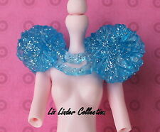 MONSTER HIGH ~ Abbey Bominable Ghouls Rule BLUE ICE SHOULDER SHRUG ACCESSORY