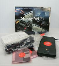 NEW! 1995 Apple Newton MessagePad 120 with manuals, Discs - NIB