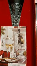 Waterford Crystal 12 Days Of Christmas Flute 2 Two Turtle Doves NIB