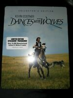 Dances With Wolves CE Steelbook 3-Disc Bluray - LIKE NEW - FREE SHIPPING