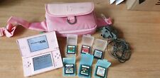 Nintendo DS Lite-Bundle Games Console with Charger, Games and Case FREE POSTAGE
