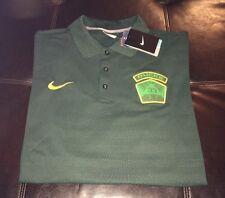 NWT Nike Drifit Oregon Ducks Basketball 33rd State Polo Men's Size XXL Green D7
