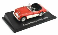 Austin Healey 3000 MkIII in Red and White (1:43 scale by Ex Mag KL05)