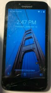 READ Coolpad Defiant 3632A (Metro PCS) Fast Ship Cell Phone Good Used