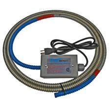 "PVC Bendit A9 PVC Pipe Heater Bends Schd 40 80 Pipe-1/2""-8"" ID X 9 Ft long"