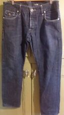 """G Star Raw Morris Mens Distressed JeansSize 32"""" W 32"""" L  Low Straight Casual"""