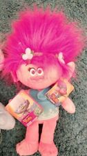 Official Trolls Plush Teddy Princess Poppy 30cm large