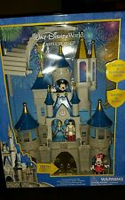 DISNEY PARKS WORLD CINDERELLA CASTLE TOY SET Mickey and Friends NEW FIREWORKS