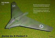 Horten Ho X   Entwurf 2       1/72 Bird Models Resinbausatz / resin kit
