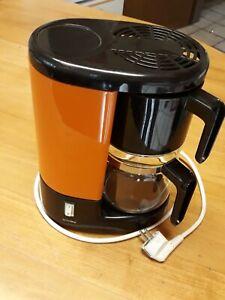 Retro Kaffeemaschine Privileg braun/orange, alt stylisch 80er