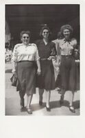 RETRO  RPPC - 3 SASSY STRONG WOMEN  - REAL PHOTO POSTCARD AZ ?