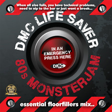 DMC Life Saver 80s Monsterjam 1 Eighties Party Continuous Mixed DJ CD By Allstar