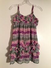 Epic Threads Blouse Tunic Top Size L  Pre-owned