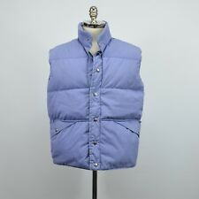 Vintage PENFIELD Men's Down Insulated VEST / Blue LARGE