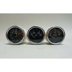 1998-2000 BMW Z3 M Roadster Coupe Center Console Gauge Set Clock Voltage Oil OEM