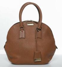 BURBERRY Caramel Large Grain Leather Orchard Satchel Bag Handbag