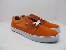 DC Men's Tonik S Skate Shoe Orange/White Size 12M